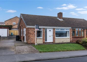 Thumbnail 2 bed semi-detached bungalow for sale in Ryedale Way, Tingley, Wakefield, West Yorkshire