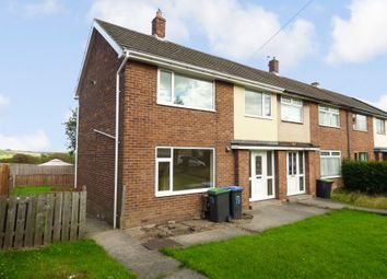 Thumbnail 3 bed terraced house for sale in Castledene Road, Consett
