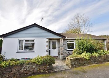 Thumbnail 4 bed detached bungalow for sale in Warrens Field, Camelford, Cornwall