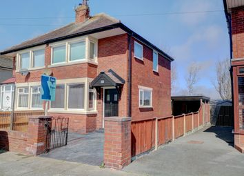 Thumbnail 3 bedroom semi-detached house for sale in Salmesbury Avenue, Blackpool