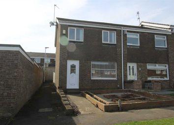 Thumbnail 3 bed terraced house for sale in Faversham Place, Parkside Dale, Cramlington