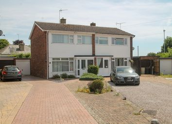 Thumbnail 3 bed semi-detached house for sale in Sycamore Road, Stowupland, Stowmarket
