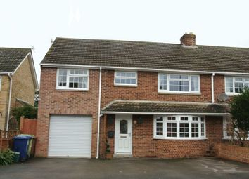Thumbnail 4 bed semi-detached house for sale in Stansby Crescent, Churchdown, Gloucester