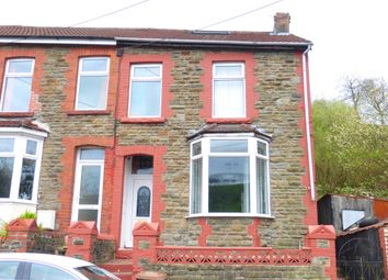 Thumbnail 3 bed end terrace house for sale in Clive Street, Senghenydd, Caerphilly
