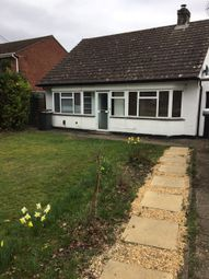 Thumbnail 2 bed bungalow to rent in Rownhams Lane, North Baddesley, Southampton