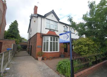 Thumbnail 4 bed semi-detached house for sale in Cross Lane, Grappenhall, Warrington