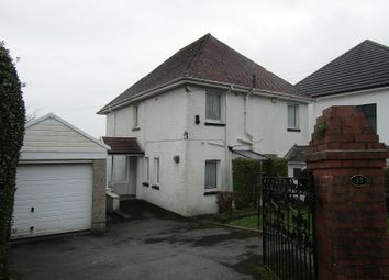Thumbnail Detached house for sale in Glynderwen Crescent, Sketty, Swansea.
