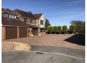 Thumbnail 5 bed detached house for sale in Essington Close, Lichfield