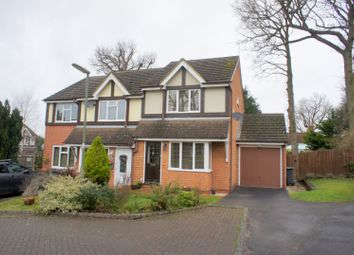 Thumbnail 2 bed semi-detached house for sale in Butterfields, Camberley