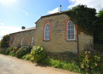 Thumbnail 4 bed detached house for sale in St. Pinnock, Liskeard, Cornwall