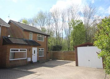 Thumbnail 3 bed link-detached house for sale in Ashburnham Close, Freshbrook, Wiltshire