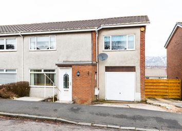 Thumbnail 4 bed semi-detached house for sale in Loch Road, Kirkintilloch, Glasgow