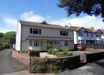 Thumbnail 2 bed flat to rent in Marine Drive, Paignton