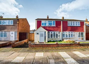 Thumbnail 3 bed semi-detached house for sale in Bruce Close, Welling