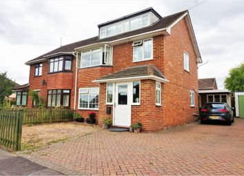 Thumbnail 5 bed semi-detached house for sale in Stocker Close, Basingstoke