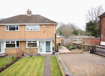 Thumbnail 2 bed semi-detached house to rent in Newcastle Road, Stone, Staffordshire