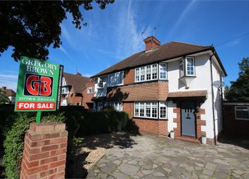 Thumbnail 4 bed semi-detached house for sale in Village Way, Ashford, Surrey