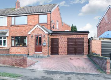 Thumbnail 4 bed semi-detached house for sale in Marriott Road, Sandbach