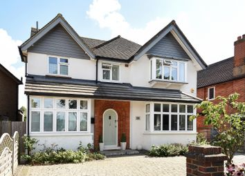Thumbnail 5 bed detached house for sale in Meadway Drive, Woking