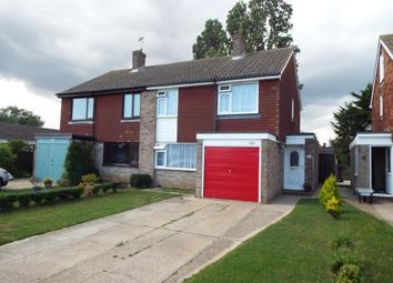 Thumbnail 3 bed semi-detached house for sale in Garden Road, Walton On The Naze