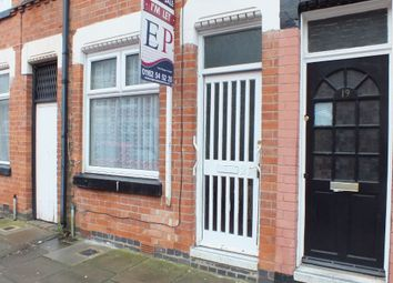 Thumbnail 2 bed terraced house for sale in Laurel Road, Off St Peters Road, Leicester