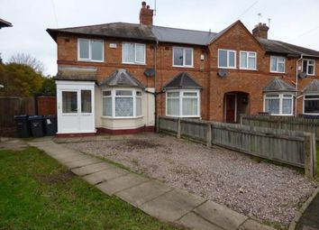 Thumbnail 2 bed end terrace house for sale in Central Grove, Acocks Green, Birmingham, West Midlands
