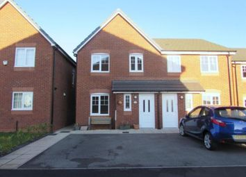 Thumbnail 3 bed semi-detached house for sale in Housman Close, Blackpool