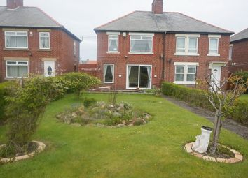 Thumbnail 3 bed semi-detached house for sale in Park Road, Lynemouth, Morpeth