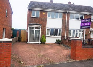 Thumbnail 3 bed semi-detached house for sale in Hills Lane Drive, Madeley Telford