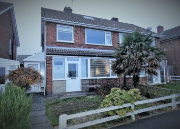 Thumbnail 3 bed semi-detached house for sale in Tiverton Avenue, Whitwick