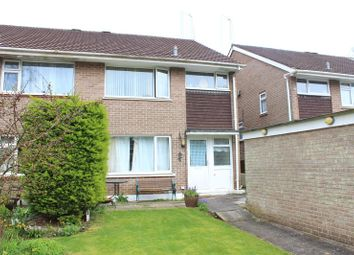 Thumbnail 3 bed semi-detached house for sale in Holmwood Avenue, Goosewell, Plymstock, Plymouth