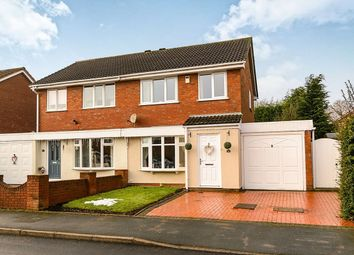 Thumbnail 3 bed semi-detached house for sale in Bond Way, Hednesford, Cannock