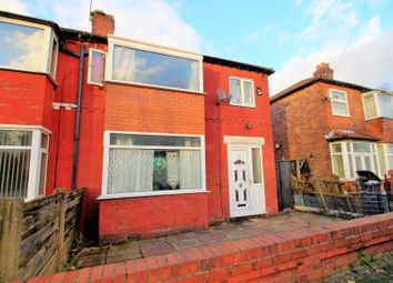 Thumbnail 3 bed semi-detached house for sale in Slade Hall Road, Longsight, Manchester
