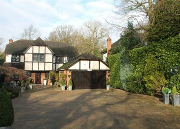 Thumbnail 5 bed detached house to rent in Hartsbourne Road, Bushey Heath, Hertfordshire