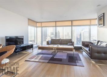 Thumbnail 2 bed flat for sale in East Tower, Canary Wharf, London