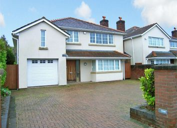 Thumbnail 4 bed detached house to rent in St Edeyrns Road, Cyncoed, Cardiff