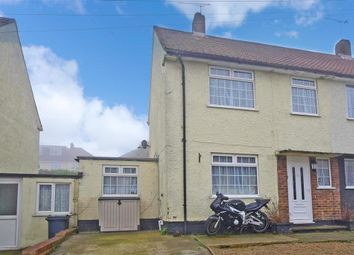 Thumbnail 3 bed semi-detached house for sale in Chilham Road, Twydall, Gillingham, Kent