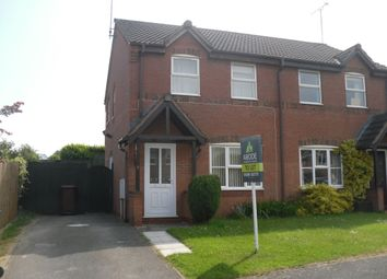 Thumbnail 3 bed semi-detached house to rent in Elder Close, Uttoxeter