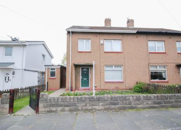Thumbnail 3 bedroom semi-detached house for sale in Byron Avenue, Boldon Colliery