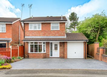 Thumbnail 3 bed detached house for sale in Keele Close, Church Hill North, Redditch