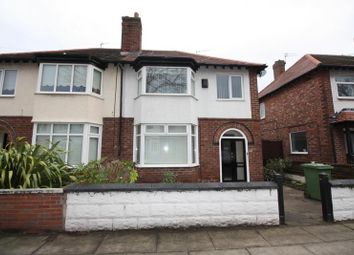 Thumbnail 3 bed semi-detached house to rent in Woodville Avenue, Crosby, Liverpool