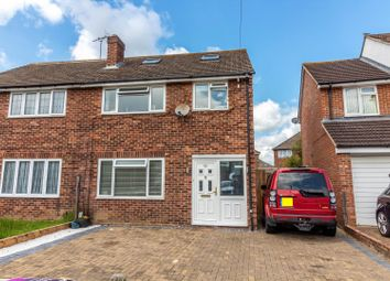 Thumbnail 3 bedroom semi-detached house for sale in Norton Road, Woodley, Reading