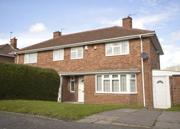 Thumbnail 3 bed semi-detached house for sale in Burcot Avenue, Wolverhampton