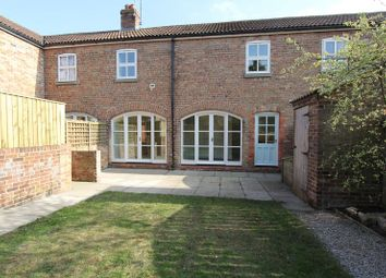 Thumbnail 2 bed terraced house to rent in St. Nicholas Close, North Newbald, York