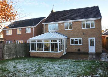 Thumbnail 4 bed detached house for sale in Rose Crescent, Leicester Forest East