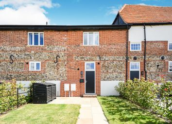 Thumbnail 2 bed terraced house for sale in The Whittles, Thaxted, Dunmow