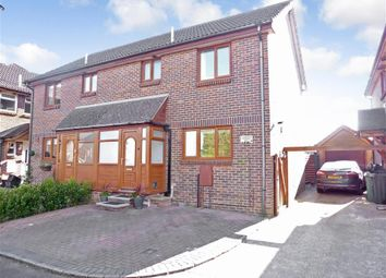 Thumbnail 3 bed semi-detached house for sale in Hopkins Walk, Arreton, Newport, Isle Of Wight