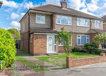 Thumbnail 3 bed semi-detached house to rent in Bellamy Road, Cheshunt, Hertfordshire