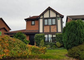 Thumbnail 3 bed detached house to rent in Queensbury Drive, North Walbottle, Newcastle Upon Tyne