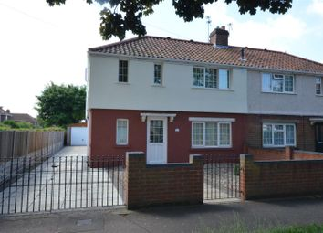 Thumbnail 3 bed semi-detached house for sale in Gresham Road, Norwich